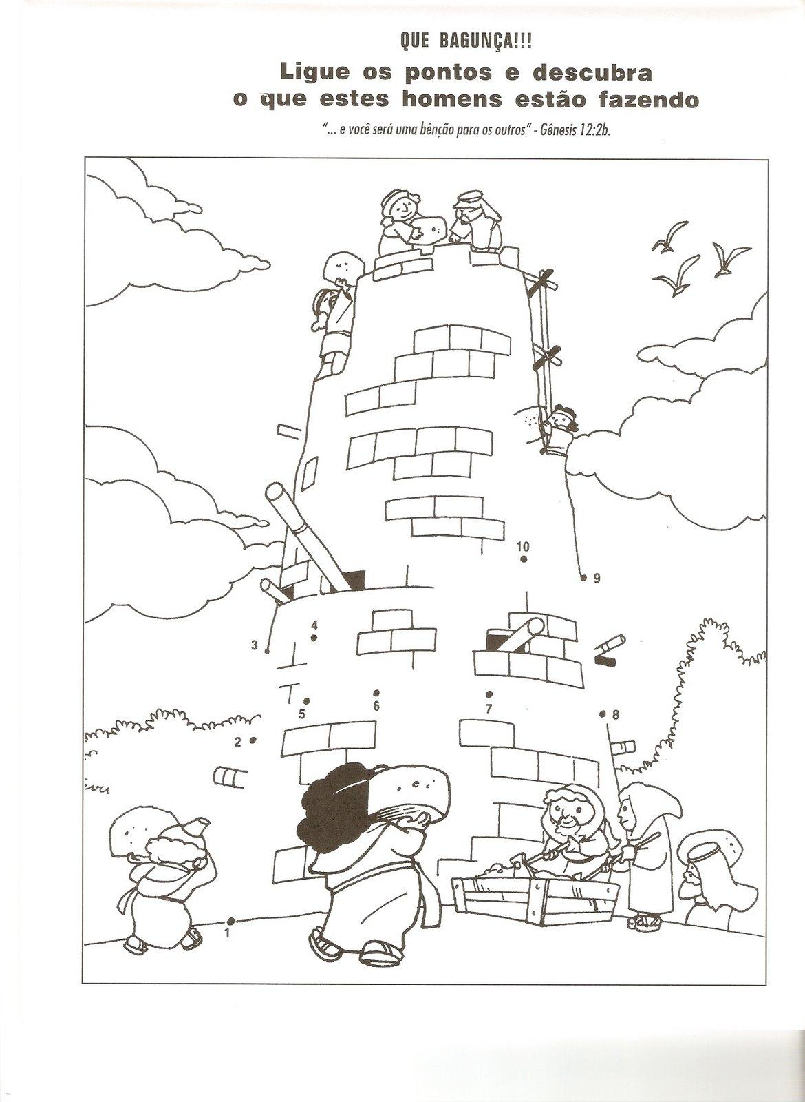 Tower of babel coloring pages - a-k-b.info