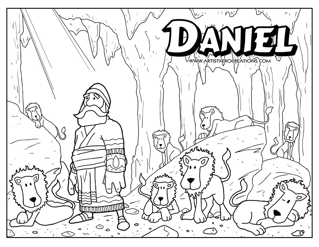 Bible Superhero Coloring Pages Sketch Coloring Page