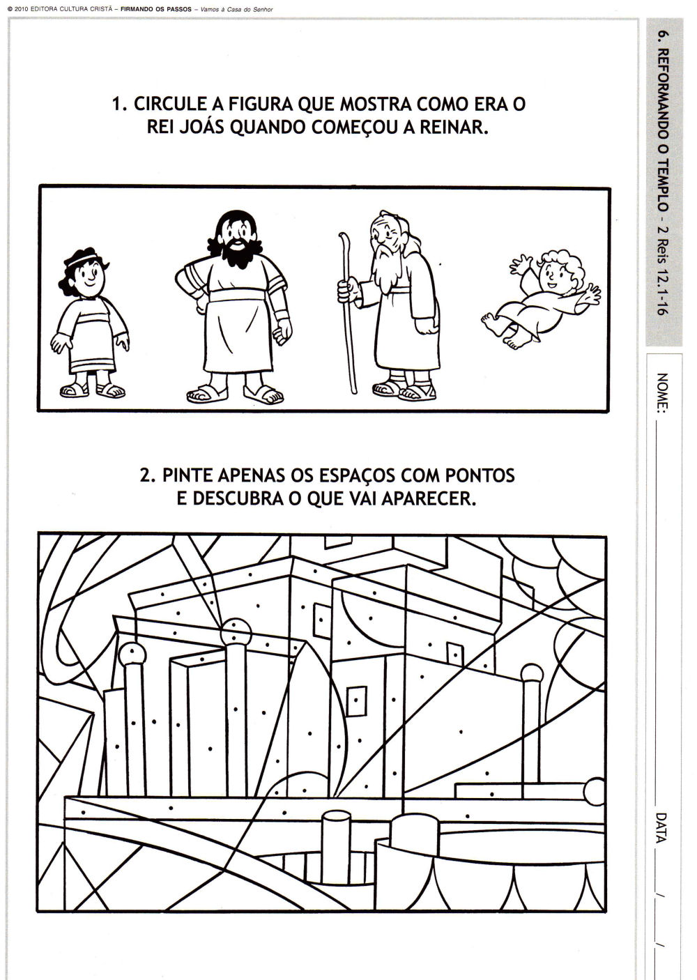 1000 Images About King Joash On Pinterest King Joash Coloring Page