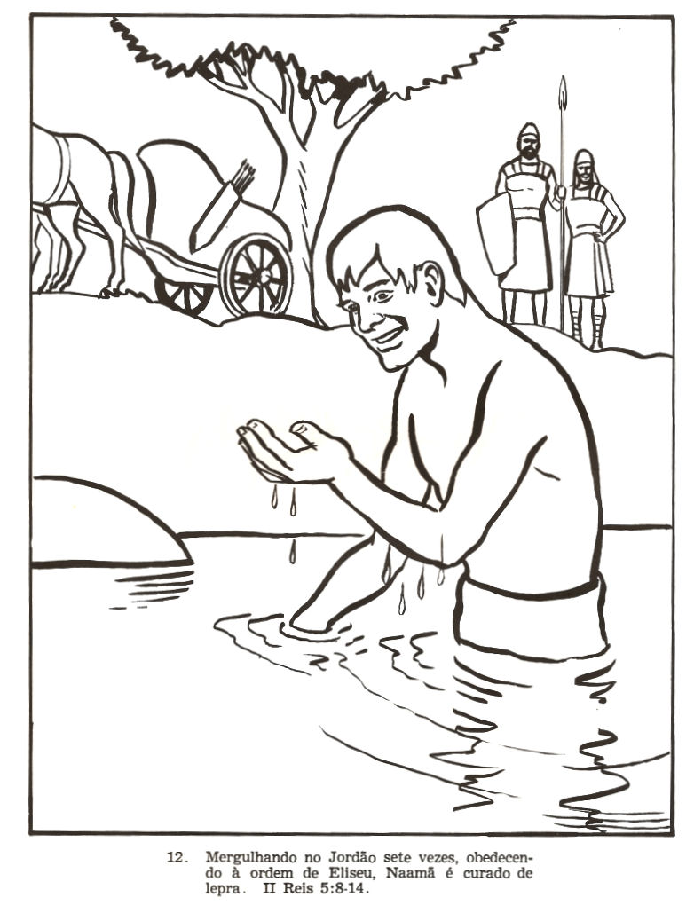 coloring pages naaman - photo#23