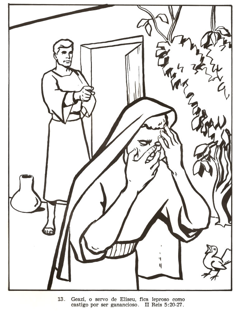 naaman and elisha coloring pages - photo #42