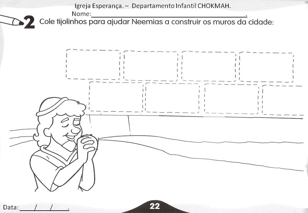 ezra and nehemiah coloring pages - photo#29