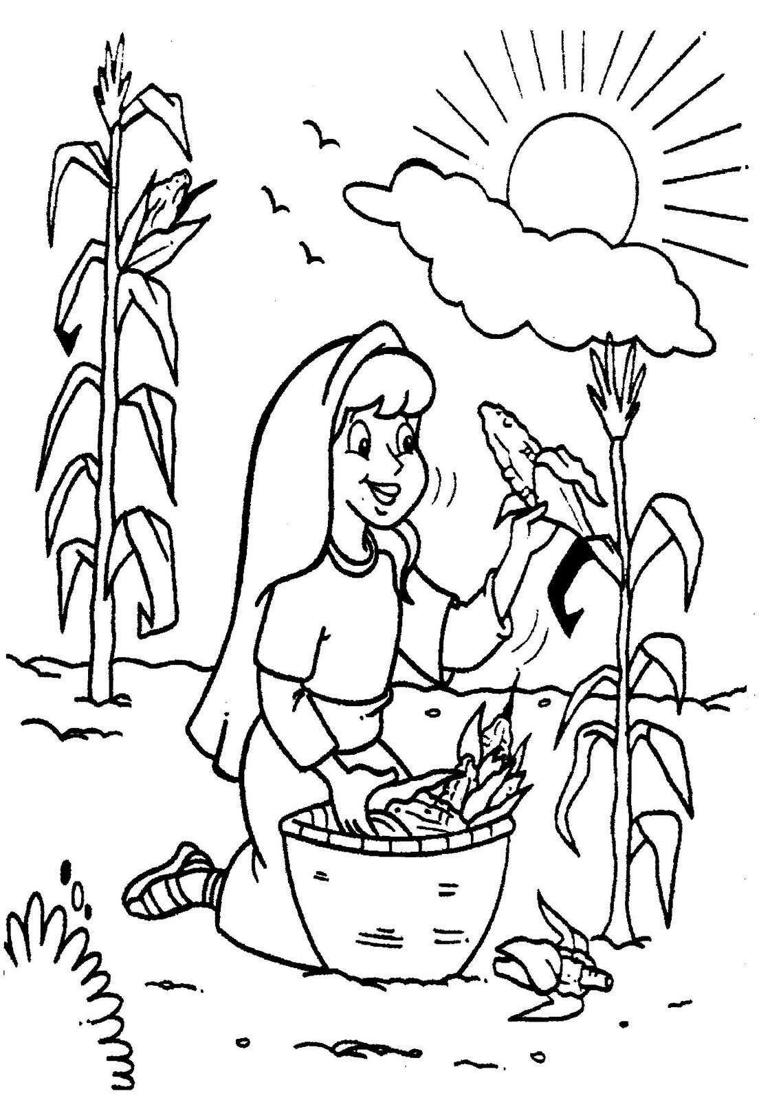Ruth And Boaz Coloring Pages Coloring Pages Ruth Coloring Pages