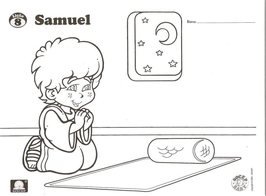 bible story coloring pages samuel - photo #49