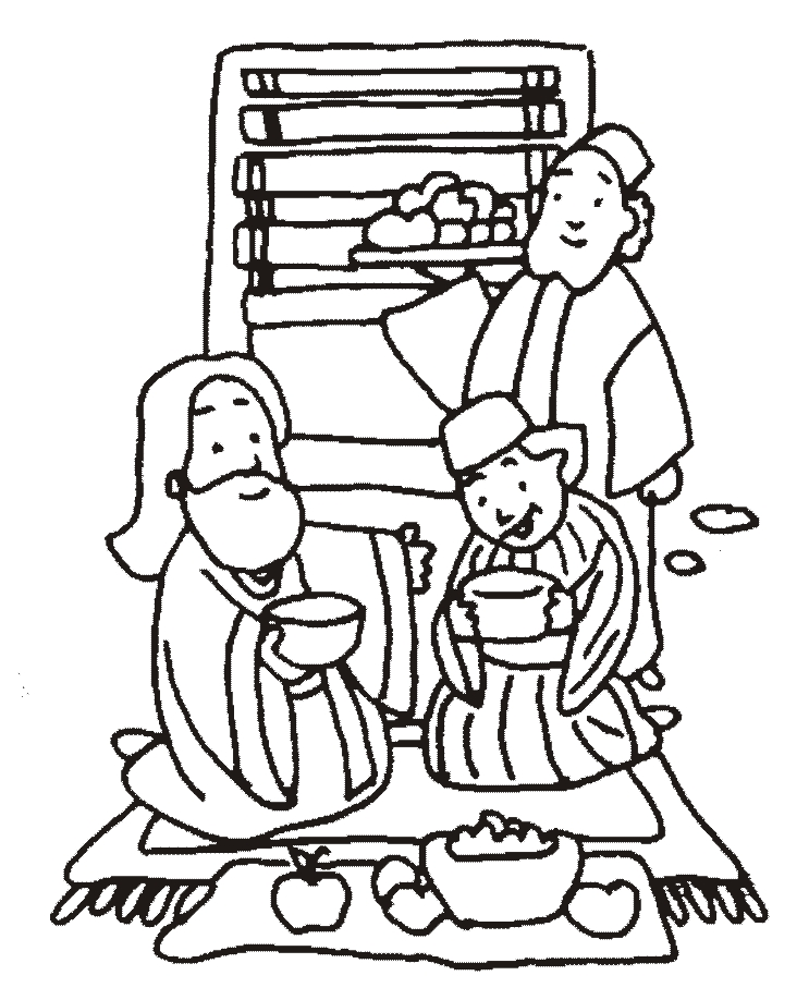 zaqueo coloring pages - photo #37